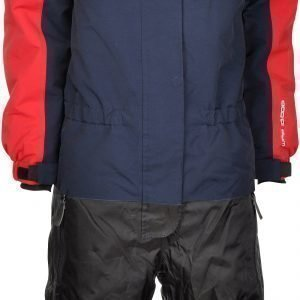 Lindberg Overall Davos Navy/Red