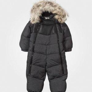 Lindberg Rocky Baby Snow Suit Grey Toppahaalari