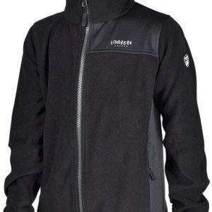 Lindberg Sävar Fleece Jacket Fleecetakki Musta