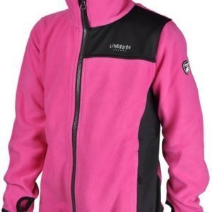 Lindberg Sävar Fleece Jacket Fleecetakki Pink