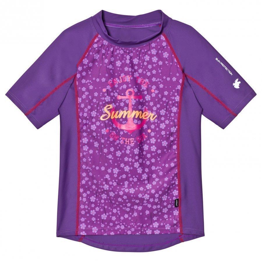 Lindberg Sky Shirt Lilac Aurinkopuku