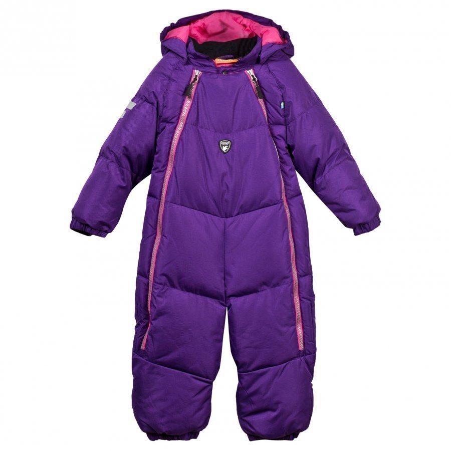 Lindberg Stoneham Baby Overall Purple Toppahaalari