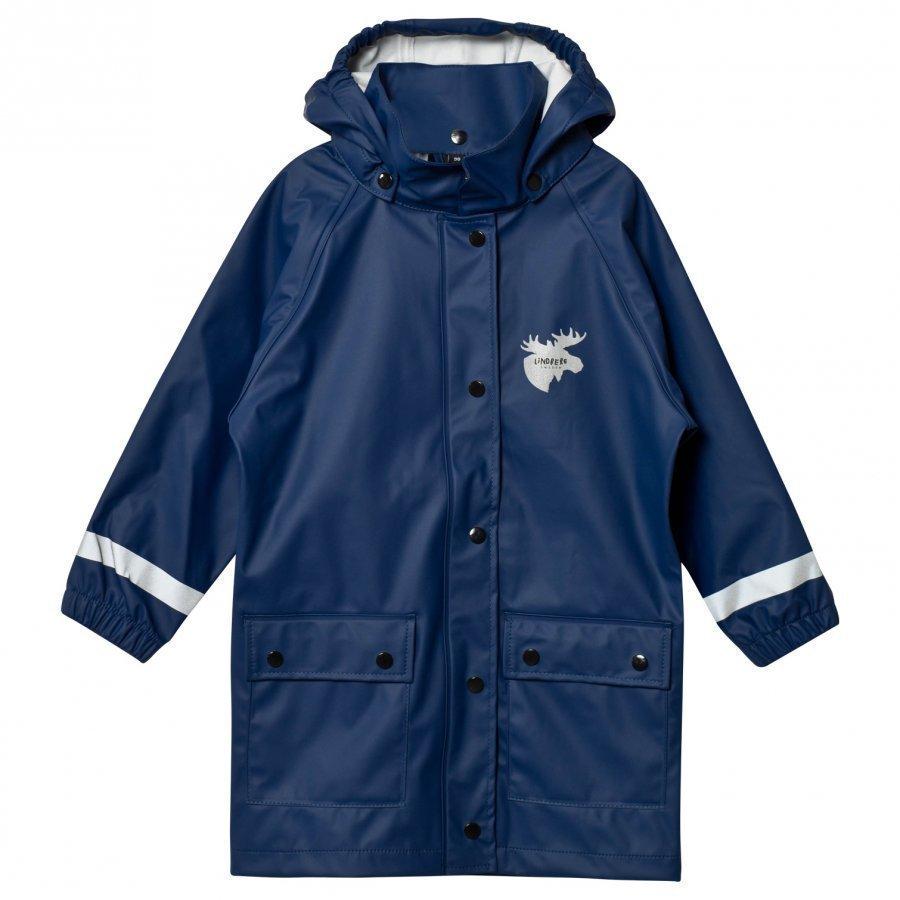 Lindberg Svanvik Rain Coat Navy Sadetakki
