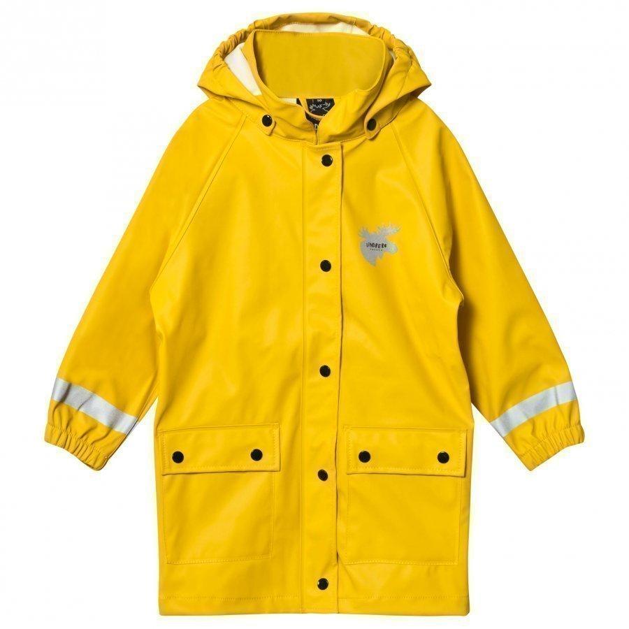 Lindberg Svanvik Rain Coat Yellow Sadetakki