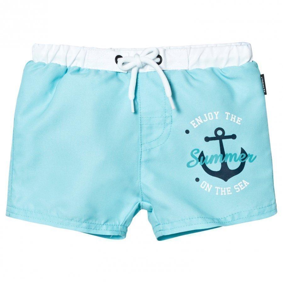Lindberg Tony Swim Diaper Shorts Turquoise Uimavaippa