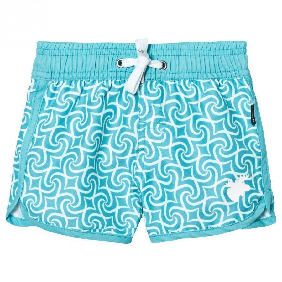 Lindberg Tulum Beach Shorts Turquoise Uimashortsit