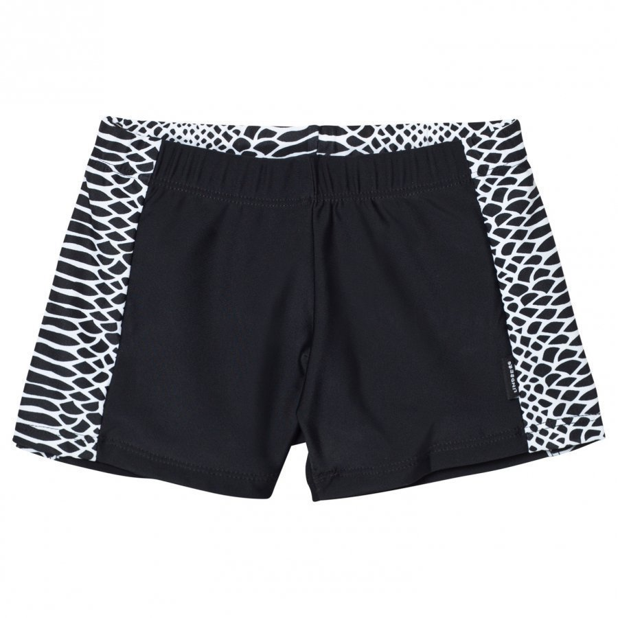 Lindberg Vincent Swim Trunk Black/White Uimahousut