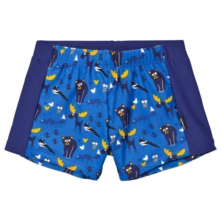 Lindberg Vincent Swim Trunk Blue Uimahousut