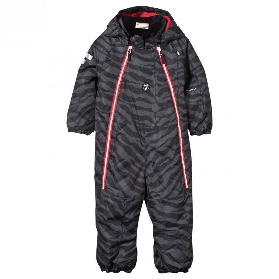 Lindberg Wengen Baby Snowsuit Black Toppahaalari