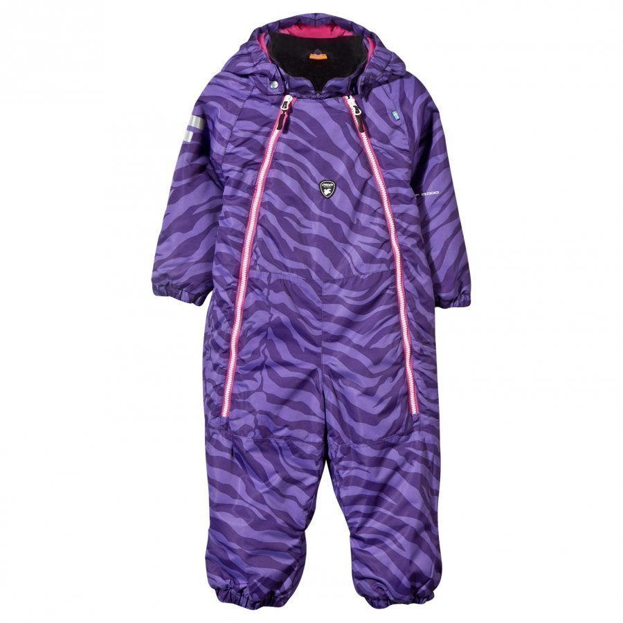 Lindberg Wengen Baby Wintersuit Purple Toppahaalari