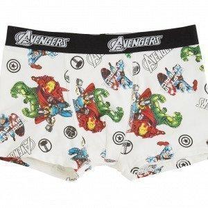 Lindex Avengers Bokserit Valkoinen