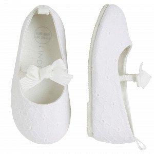 Lindex Ballerinat Valkoinen