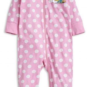 Lindex Bamse Pyjama Vaaleanpunainen