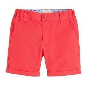 Lindex Chinos Regular Shortsit Punainen