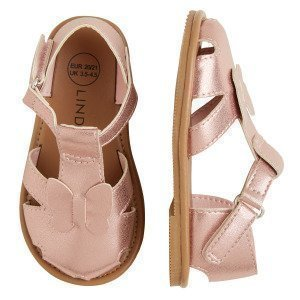 Lindex Kiiltävät Sandaalit Vaaleanpunainen