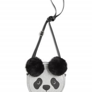 Lindex Kimaltava Pandalaukku Musta