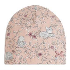 Lindex Kuvioitu Trikoopipo Vaaleanpunainen