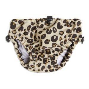 Lindex Leopardikuvioidut Uimahousut Beige