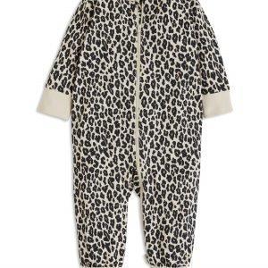 Lindex Leopardikuvioitu Pyjama Beige