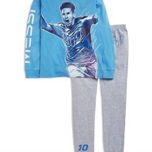 Lindex Messi Pyjama Sininen
