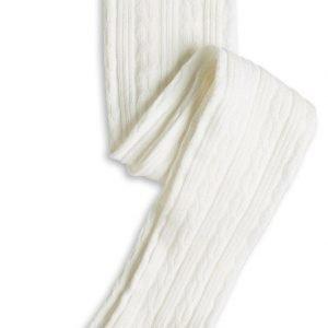 Lindex Palmikkosukkahousut Valkoinen