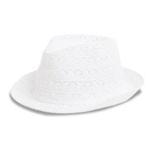 Lindex Pitsihattu Valkoinen
