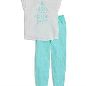 Lindex Pyjama Aqua