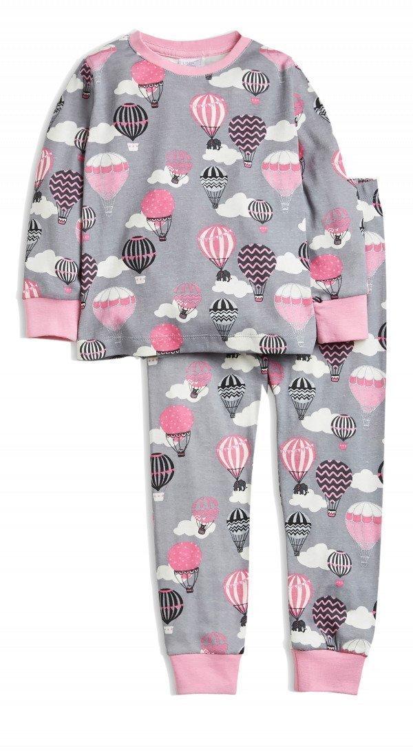 Lindex Pyjama Harmaa