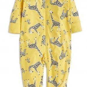 Lindex Pyjama Keltainen