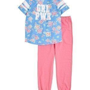 Lindex Pyjama Sininen