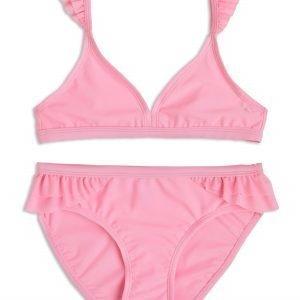 Lindex Röyhelöbikinit Vaaleanpunainen