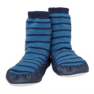 Lindex Raidalliset Mokkasiinit Sininen