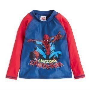 Lindex Spider Man Aurinkosuojapusero Punainen