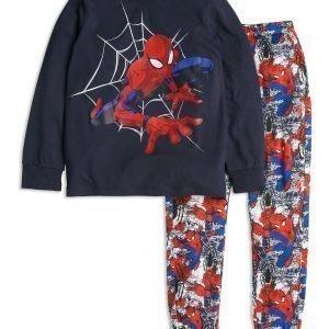 Lindex Spider Man Pyjama Sininen