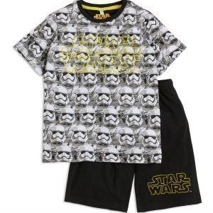Lindex Star Wars Pyjama Musta