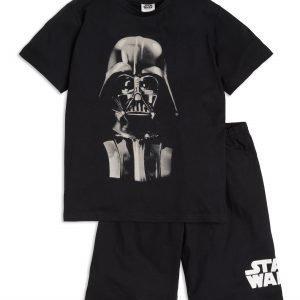 Lindex Star Wars Pyjamasetti Musta