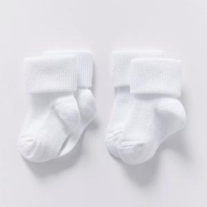 Lindex Sukat Valkoinen 2-Pakkaus