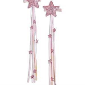 Lindex Tähtihiussoljet Vaaleanpunainen