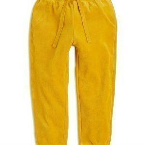 Lindex Veluurihousut Keltainen