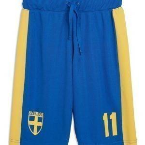 Lindex World Cup Shortsit Sininen
