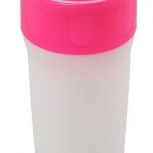 Litecup Läikkymätön muki valolla 330 ml Glitter Pink