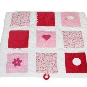 Little Dutch Pupu Leikkimatto Pink Blossom Punainen