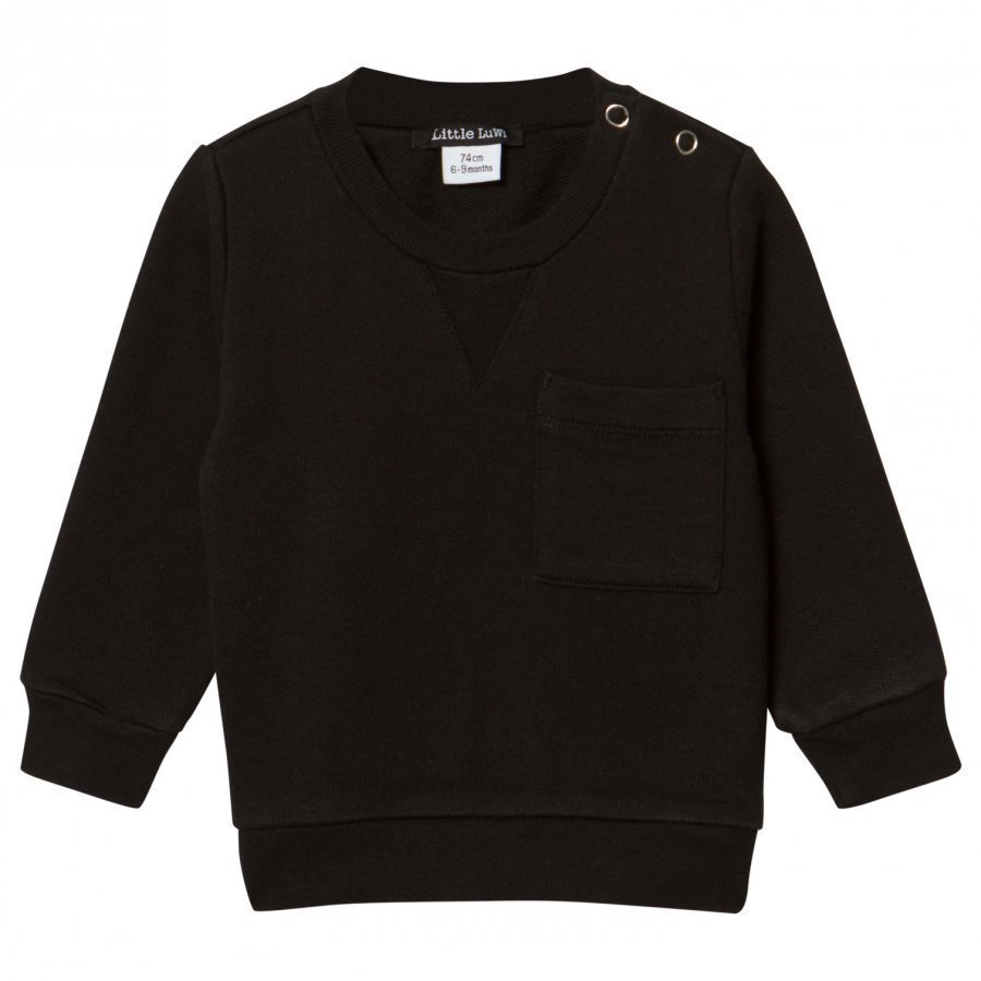 Little Luwi Black Sweatshirt Oloasun Paita