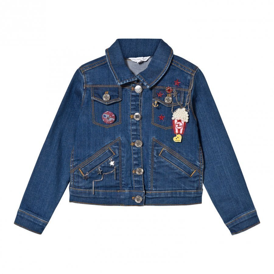 Little Marc Jacobs Blue Charm Denim Jacket Farkkutakki