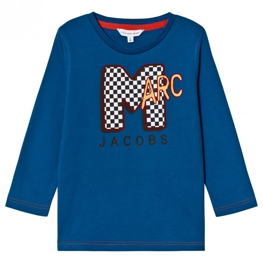Little Marc Jacobs Blue Mtv Marc Tee T-Paita