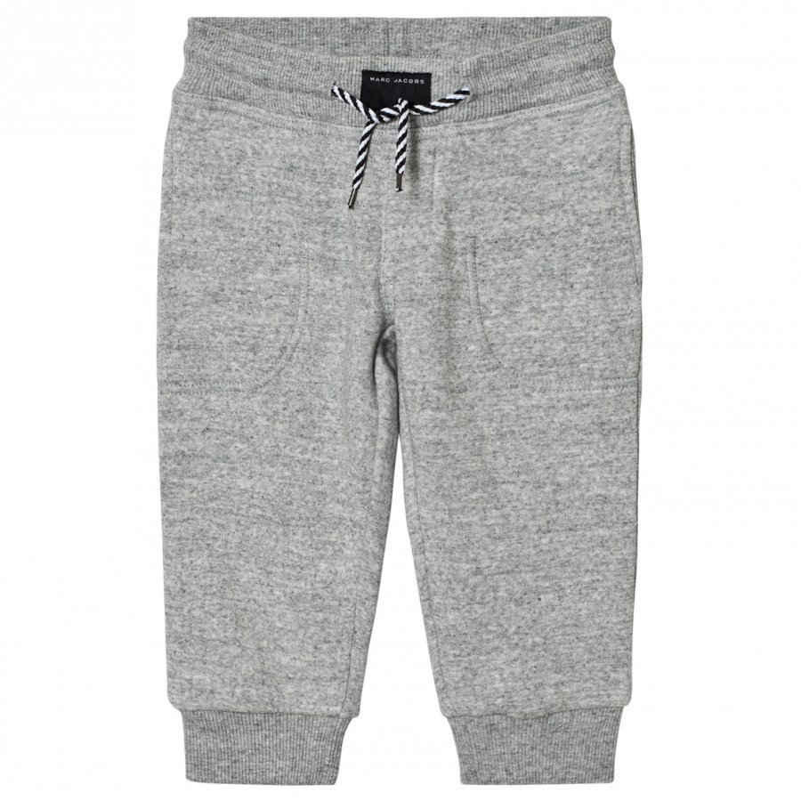 Little Marc Jacobs Grey Branded Sweat Pants Verryttelyhousut