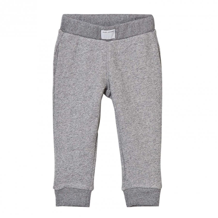 Little Marc Jacobs Grey Marl Branded Pocket Sweat Pants Verryttelyhousut