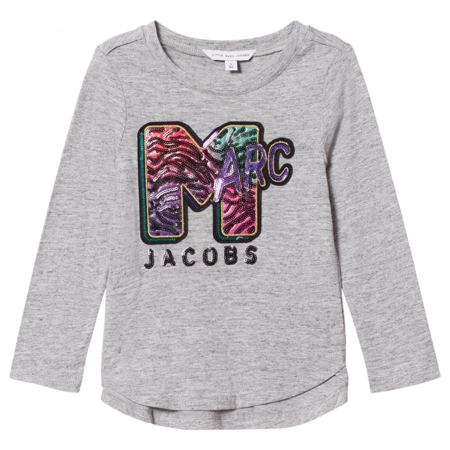 Little Marc Jacobs Grey Marl Mtv Marc Tee T-Paita