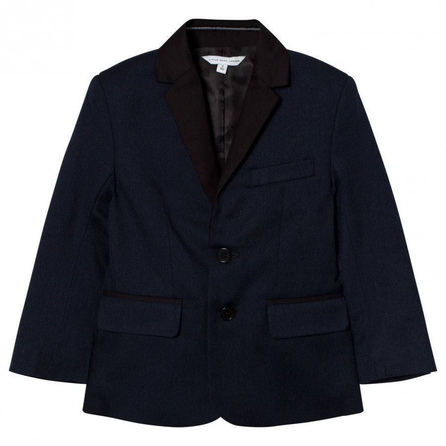 Little Marc Jacobs Navy And Black Suit Jacket Puvuntakki