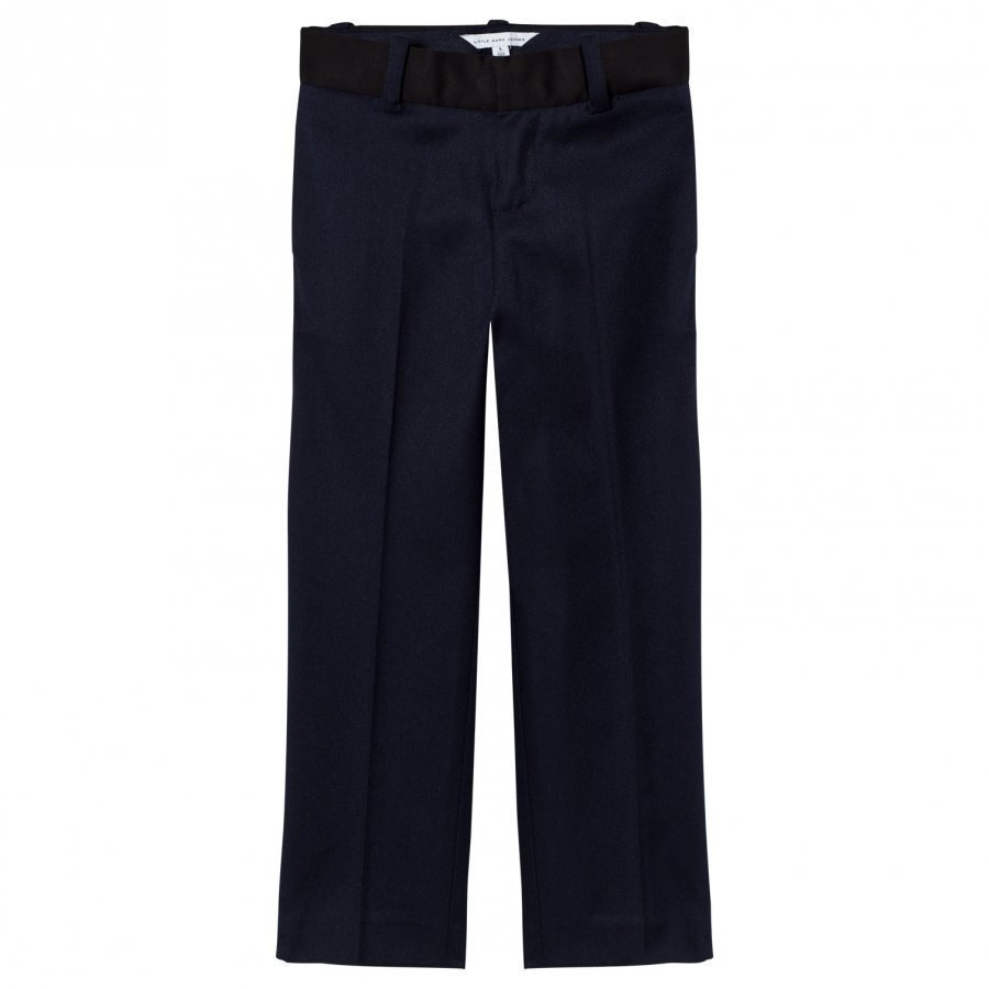 Little Marc Jacobs Navy And Black Suit Trousers Puvunhousut
